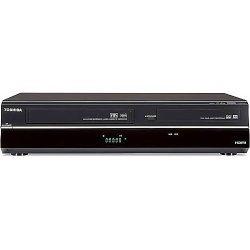 Toshiba DVR620 DVD/VHS Recorder (Black) (Discontinued)