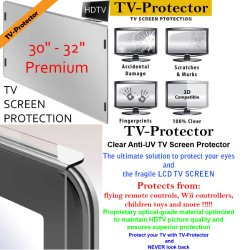 32 inch TV-ProtectorTM Stylish Design TV Screen Protector for LCD, LED and Plasma TVs