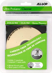 Allsop Ultra ProLens Cleaner for DVD, CD Drives, and Game Players (23321)