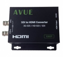 AVUE SDI TO HDMI Converter Support 3G-SDI / HD-SDI / SDI