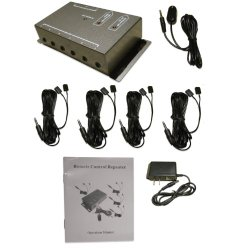 BAFX Products – IR Repeater – Remote control extender Kit – Operate 1 to 8 devices! OR more!