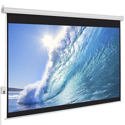 Best Choice Products® 100 Diagonal 16:9 Electric Projector Projection Screen Remote 1.3 Gain 160 Angle