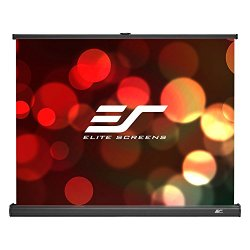 Elite Screens PicoScreen Series, 45-inch Diagonal 4:3, Portable Tabletop Pull-Up Projection Screen, Model: PC45W
