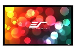 Elite Screens Sable Frame B2 Series, 120-inch Diagonal 16:9, Fixed Frame Home Theater Projection Projector Screen, SB120WH2