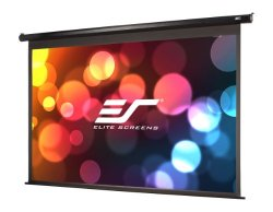 Elite Screens Spectrum, 100-inch Diagonal 16:9, Auto Electric Motorized Drop Down Projector Projection Screen, ELECTRIC100H