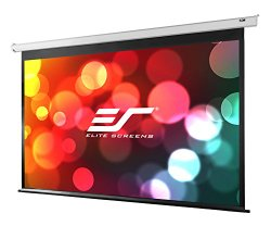 Elite Screens VMAX2, 120-inch Diagonal 16:9, Electric Motorized Drop Down HD Projection Projector Screen, VMAX120XWH2