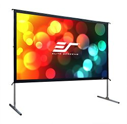 Elite Screens Yard Master 2 Series, 135-inch 16:9, Foldable-Frame Outdoor Front Projection Movie Screen, OMS135H2