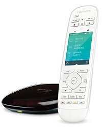 Logitech 915-000250 Harmony Ultimate Home Touch Screen Remote for 15 Home Entertainment and Automation Devices (White)