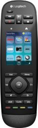 Logitech Harmony Touch Universal Remote with Color Touchscreen – Black (915-000198)