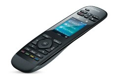 Logitech Harmony Ultimate Remote with Customizable Touch Screen and Closed Cabinet RF Control – Black (915-000201)