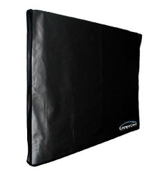 Samsung UN-65ES6550 65-inch SMART 3D HDTV Heavy Duty OUTDOOR Black Nylon TV Dust Cover fits WALL MOUNT TV, FLUSH or TILT