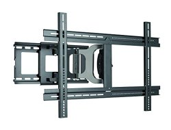 Sanus Full Motion Articulating TV Wall Mount for 37″-80″ LED, LCD and Plasma Flat Screen TVs – Extends 14 Inches – MLF13-B1