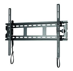 Sanus Low Profile Tilt TV Wall Mount for 37″-80″ LED, LCD and Plasma Flat Screen TVs and Monitors – MLT14-B1