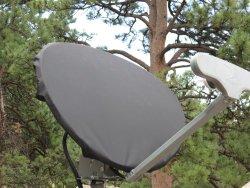 Satellite Dish Cover for DIRECTV Slimline – Color Gray