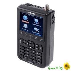 SATlink WS-6906 3.5 – Inch DVB-S FTA Data Digital Satellite Signal Finder Meter
