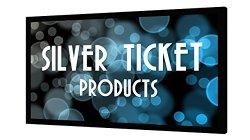 STR-169120-G Silver Ticket 120″ Diagonal 16:9 HDTV (6 Piece Fixed Frame) Projector Screen Grey Material