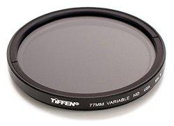 Tiffen 77VND 77MM VARIABLE ND FILTER for Camera lenses