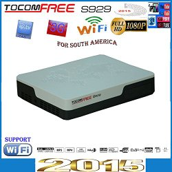 Tocomfree S929 Free Iks&sks Satellite Decoder