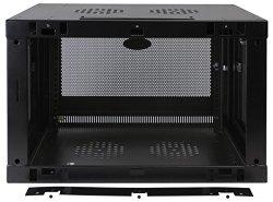 Tripp Lite SRW9U 9U Wall Mount Rack Enclosure Server Cabinet Door/Sides