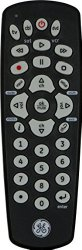 Universal Remote Control, 3 Device Infrared, Black