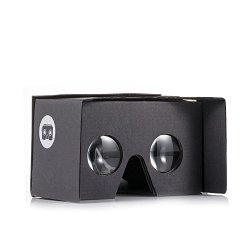 v2.0 I AM CARDBOARD® VR CARDBOARD KIT – Inspired by Google Cardboard v2 (Black)