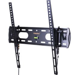 VideoSecu TV Wall Mount Tilt Low Profile Ultra Slim Television Mount Bracket for Most 26″- 47″ LED LCD Plasma TV, Some up to 55″ TV with VESA 200×100 to 400×400 1FE
