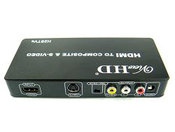 ViewHD HDMI to TV Composite RCA AV + S Video Converter (Model: H2STVs)