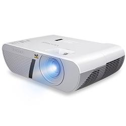 ViewSonic PJD5255L XGA DLP Projector, 3200 Lumens, HDMI, White