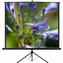 VIVO 100″ Portable Projector Screen, 100 Inch Diagonal Projection HD 4:3 Projection Pull Up Foldable Stand Tripod (PS-T-100)
