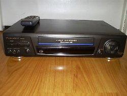 Panasonic PV-8661 Video Cassette Recorder Player VCR 4 Head Hi Fi Stereo