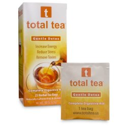 Gentle Detox Tea + Reduce Bloating Constipation and Weight Loss Tea + Doctor Recommended Colon Cleanse Tea