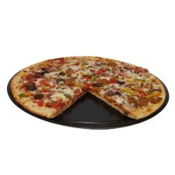 Solut 74553 SBS Paper Take and Bake Pizza Tray, 13″ Diameter, Black, for 12″ Pizza (Case of 150)