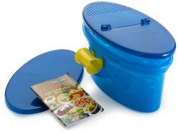 Pasta N More 5 Piece Microwave Pasta Cooker Set with Bonus Cookbook
