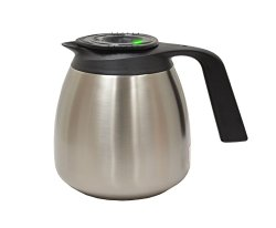 Wilbur Curtis Thermal Coffee Dispenser (64 oz.) with TFT Technology – Made for Wilbur Curtis Airpot Coffee Brewers – TFT64 (Each)