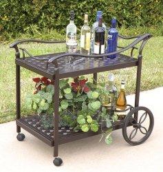 Bridgeton Moore Charleston Beverage Cart
