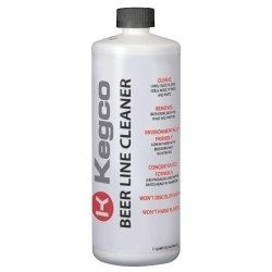 Kegco Beer Line Cleaner for Kegerators – 32 oz Bottle