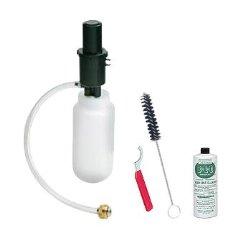 Kegco BF CK-1P04 Beer Line Cleaning Kit Bottle with 4 oz Cleaner, 1 quart, Black