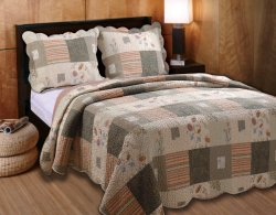 Greenland Home Sedona Twin 2-Piece Quilt Set