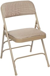 National Public Seating 2300 Series Steel Frame Upholstered Premium Fabric Seat (Carton of 4)