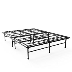 Sleep Master SmartBase Elite Mattress Foundation/Platform Bed Frame/Box Spring Replacement, Queen