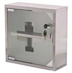 Update International (MC-125S) Locking First Aid Cabinet