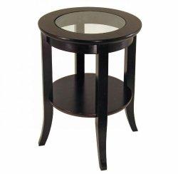 Winsome Wood Genoa End Table, Espresso
