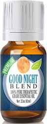 Good Night Essential Oil (Comparable to DoTerra's Serenity & Young Living's Peace & Calming Blend) 100% Pure – 10ml