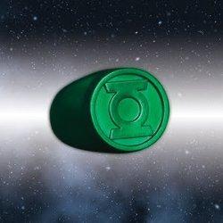 Blackest Night Green Lantern Ring Authentic DC Comics Plastic