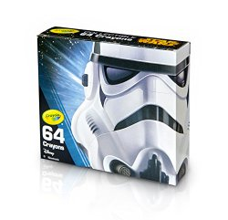 Crayola Limited Edition Crayon, Star Wars Storm Trooper Toy (64 Count)