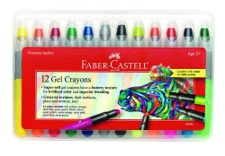 Faber Castell Gel Crayons,12 colors