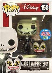 Funko Pop! Disney #158 Nightmare Before Christmas Jack Skellington & Vampire Teddy (NYCC 2015 Exclusive)