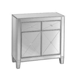 SEI Mirage Mirrored Cabinet