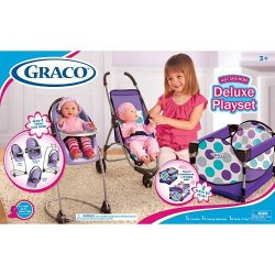 Graco Just Like Mom Deluxe Playset