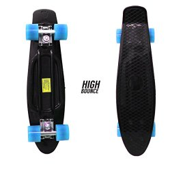 High Bounce Complete 22″ Skateboard (Black)